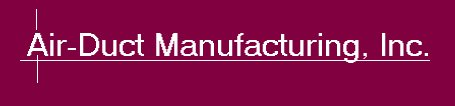 Air Duct Manufacturing Logo Header
